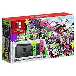 Nintendo Switch スプラトゥーン2セット(携帯用ゲーム機本体)