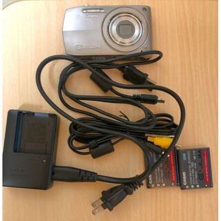 カシオ(CASIO)の動作確認済 CASIO EXILIM EX-Z2000 バッテリー2本付。(コンパクトデジタルカメラ)