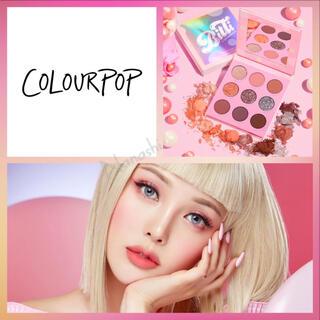 カラーポップ(colourpop)のcolourpop 🍭 candy button shadow palette(アイシャドウ)