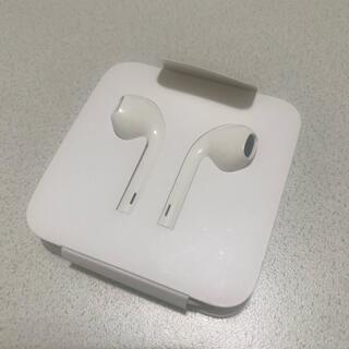 アップル(Apple)のApple iPhone イヤホン 純正(ヘッドフォン/イヤフォン)