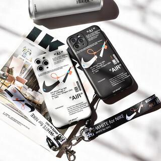 OFF-WHITE - iPhoneケース 白 黒 韓国 大人気
