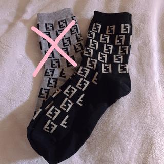 ファッション 靴下 ノベルティ 2足セット