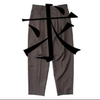 コモリ(COMOLI)の求 stein 20AW pants(スラックス)