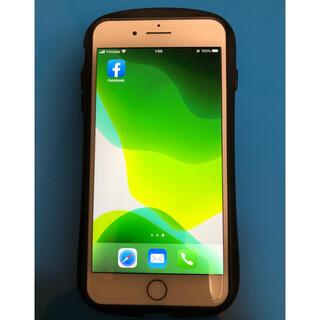 Apple - iPhone7 Plus SIMフリー化済み 本体とiFaceカバー