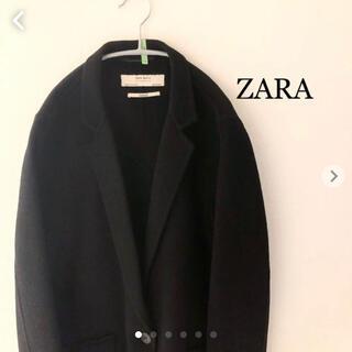 ZARA - ZARA レディースチェスターコート ロングコート ザラ Mサイズ