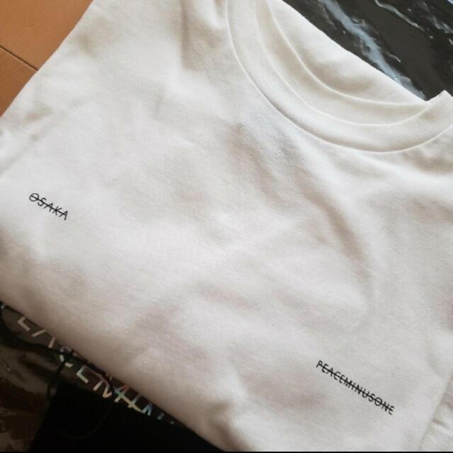 PEACEMINUSONE(ピースマイナスワン)のpeaceminusone osaka限定 Tシャツ 15日まで値下げ メンズのトップス(Tシャツ/カットソー(半袖/袖なし))の商品写真