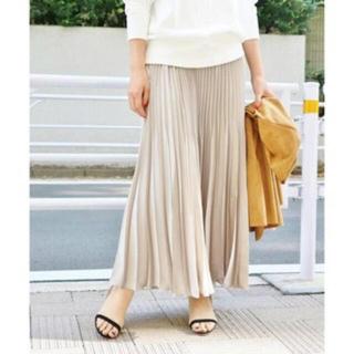IENA - ◆38サイズ◆アコーディオンプリーツスカート ホワイト