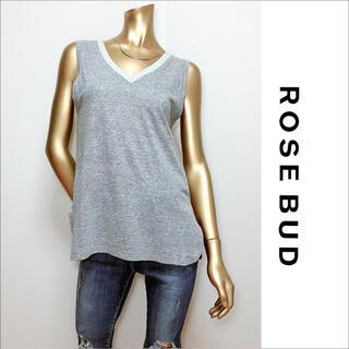 ROSE BUD - ROSE BUD  ノースリーブトップス カットソー タンクトップ♡シップス