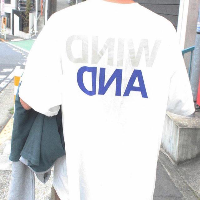 WINDANDSEA ウィンダンシーTシャツ L  新品未使用 即完売 白 メンズのトップス(Tシャツ/カットソー(半袖/袖なし))の商品写真