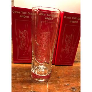 コカコーラ(コカ・コーラ)のコカコーラ、グラス。3個セット(グラス/カップ)