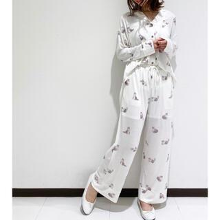 ジェラートピケ(gelato pique)の新品♡ジェラートピケ【Halloween限定】キャットシャツ&ロングパンツ(ルームウェア)