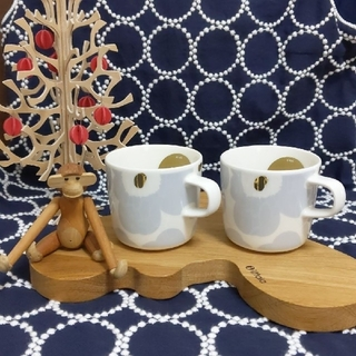 marimekko - marimekko  コーヒーカップ『ウニッコ』 2個セット