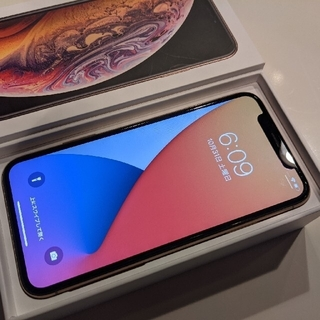 iPhone - iPhone Xs GOLD 64 GB SIMフリー