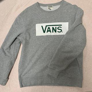 ヴァンズ(VANS)のVANSボックスロゴトレーナーMサイズ(スウェット)