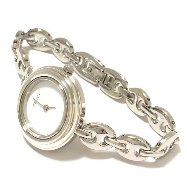 Gucci(グッチ)の2.超美品 グッチ GUCCI 時計 チェンジベゼル レディースのファッション小物(腕時計)の商品写真