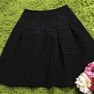 M'S GRACY - エムズグレイシー レディフレアスカート黒