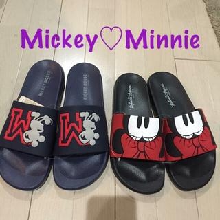 ディズニー(Disney)の Mickey ・ Minnie     EVAサンダル(サンダル)