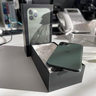 Apple - iPhone11 Pro 64GB SIMフリー ミッドナイトグリーン