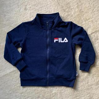 フィラ(FILA)のフィラ 上着 スウェット ジップアップ 110(ジャケット/上着)