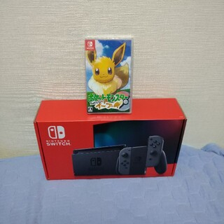 Nintendo Switch - 【新品未開封セット】スイッチ本体グレー+ポケットモンスターイーヴィ★送料無料