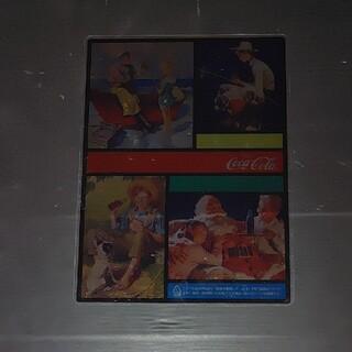コカコーラ(コカ・コーラ)のコカ・コーラ Coca-Cola 下敷き(ノベルティグッズ)