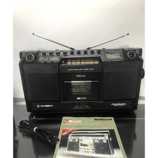 パナソニック(Panasonic)のラジカセ National ナショナル RS-4250 FM AM ラジカセ中古(ラジオ)