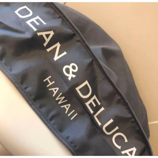 DEAN & DELUCA(ディーンアンドデルーカ)の★期間限定 ハワイ限定日本未発売DEAN&DELUCA折り畳みエコバッググレー レディースのバッグ(エコバッグ)の商品写真