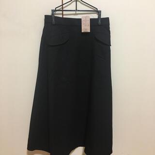 ピンクアドべ(PINK ADOBE)の未使用タグ付 台形フレアスカート(ロングスカート)