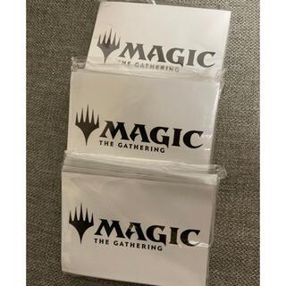 マジックザギャザリング(マジック:ザ・ギャザリング)のMTGロゴスリーブ3つ(カードサプライ/アクセサリ)