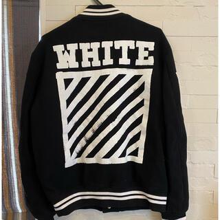 オフホワイト(OFF-WHITE)のオフホワイト スタジャン Sサイズ(スタジャン)