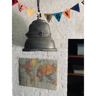 ワールドマップ 世界地図 ヴィンテージ アンティーク ビンテージ レトロ 雑貨(置物)