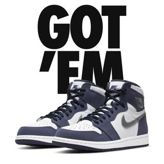 NIKE - Nike JORDAN 1 MIDNIGHT NAVY ジョーダン1 25.5