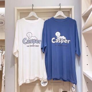 gelato pique - 新品タグ付き ジェラートピケ×CASPER★ワンポイントTシャツ ブルー