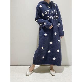 gelato pique - 新品 パウダー スタージャガード ドレス ワンピース スター ネイビー 星柄
