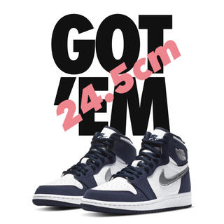 NIKE - nike air jordan 1 high midnight navy