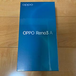 ANDROID - 新品 OPPO RENO3 A 本体 ブラック