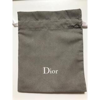 Dior - Dior 巾着 グレー ⓶