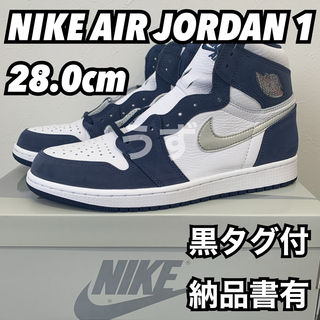 NIKE - 【28.0cm】エアジョーダン1 ミッドナイトネイビー co.jp