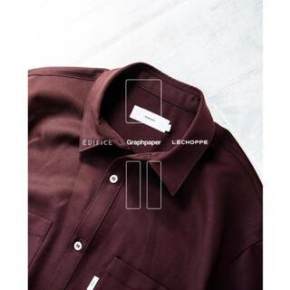 COMOLI - graphpaper edifice L'ECHOPPEシャツ1新品未使用タグ付