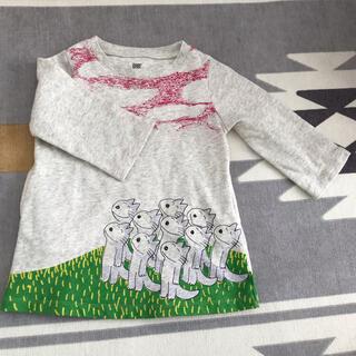 グラニフ(Design Tshirts Store graniph)の結衣様専用 11ぴきのねこ ワンピース 90センチ(ワンピース)