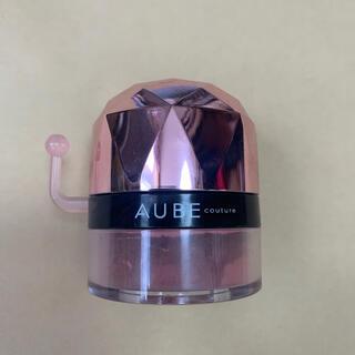 オーブ(AUBE)のオーブ クチュール ポンポンチーク 435 レッド(チーク)