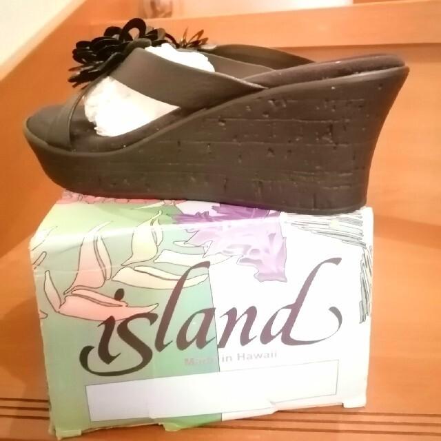 ISLAND SLIPPER(アイランドスリッパ)の新品 アイランドスリッパ レディース サイズ6 レディースの靴/シューズ(サンダル)の商品写真