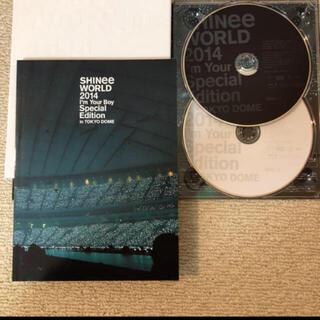 シャイニー(SHINee)のSHINee Blu-ray SHINee WORLD 2014 (アイドル)