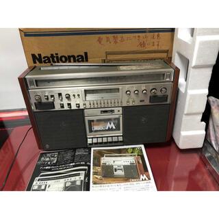 パナソニック(Panasonic)の内蔵Bluetoothに変更可能NationalナショナルRX-5700ラジカセ(ラジオ)