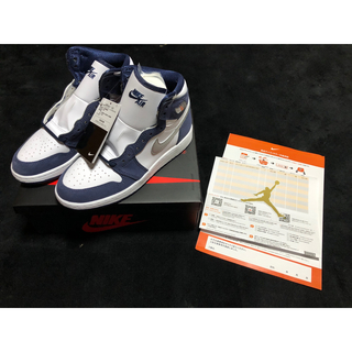 NIKE - NIKE AIR JORDAN 1 Midnight Navy GS 23.5