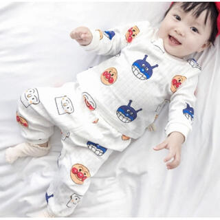 ♡100♡新品 パジャマ 男女OK!部屋着 長袖 パンツ セットアップ 可愛い
