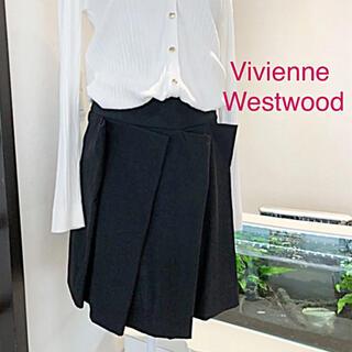 ヴィヴィアンウエストウッド(Vivienne Westwood)のVivienne Westwood☆変形スカート♡オシャレ(*´꒳`*)♪(ひざ丈スカート)