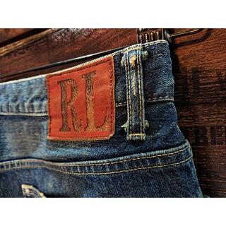 ラルフローレン(Ralph Lauren)のラルフローレン♪ストレートジーンズ♪ウエスト約88cm♪1903B(デニム/ジーンズ)