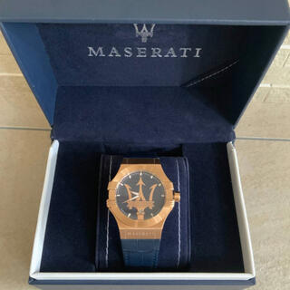 マセラティ 腕時計 希少色 レアモデル 入手困難 美品 未使用