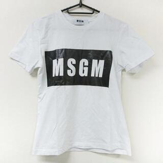 MSGM - エムエスジィエム 半袖Tシャツ サイズXS -